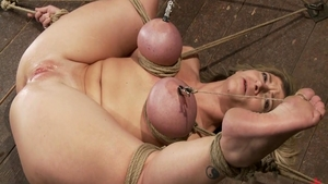 Big tits and busty Sara Jay fun with toys
