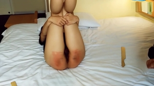Very small tits girl fetish spanking