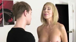 Fucking along with young wife Erica Lauren in HD