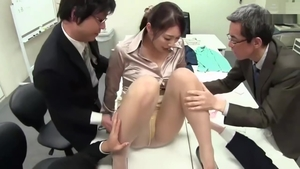 Blowjob in office big boobs asian