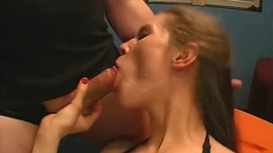 Gangbang shaved deutsch in sexy stockings