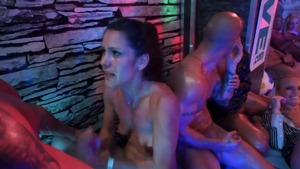 Threesome in company with pornstar Eliss Fire