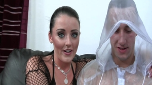 Squirting in the company of busty mature Sophie Dee
