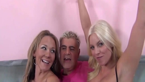Hard ramming together with horny friend Nikki Sexx