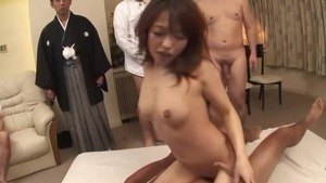Hard pounding with small tits asian
