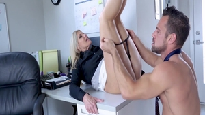 India Summer creampied in office
