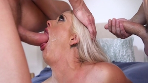 Orgy in company with busty hotwife Holly Heart