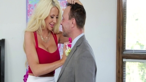 Big tits Courtney Taylor group sex dick sucking