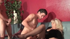 Anal double skinny french in HD