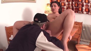 Hard fucking with plump deutsch mature