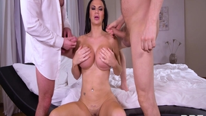 Busty british babe Jasmine Jae wants hard slamming
