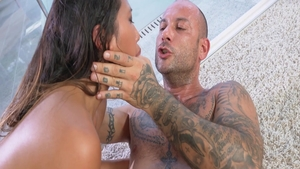 Rough hard nailining with Mike Angelo amongst hottest May Thai