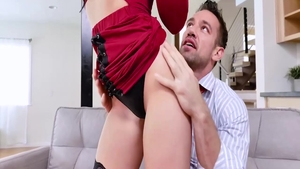 Thick blonde nailed by Johnny Castle