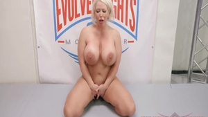 Sloppy fucking in company with busty housewife Alura Jenson