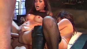 Beautiful amateur wishes nailing in HD