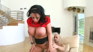 Large boobs Kerry Louise hardcore receiving facial cum loads