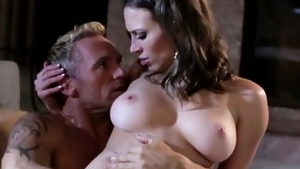 Busty whore finds irresistible real sex