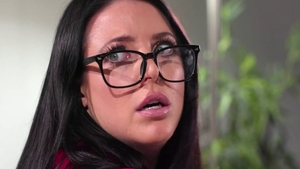 Angela White next to Ela White interracial fucking
