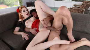 Very juicy Amarna Miller redhead pounding porn
