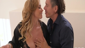 Large boobs blonde haired Eva Notty & Mick Blue good fucking