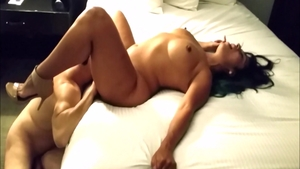 Hottest & big boobs slut hardcore fucked in the ass in hotel