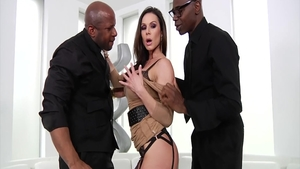 Nailed rough with lustful Kendra Lust and Sean Michaels