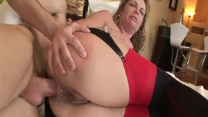 Young blonde haired european Kelly Leigh hard doggy style