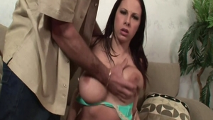 Blowjobs sex tape between very sexy rough Gianna Michaels