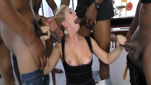 Orgy with wild american herie Deville