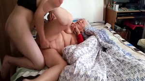 Hard sex along with huge tits chinese mature
