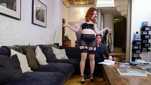 Rough sex with redhead Amarna Miller