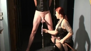 Spanking escorted by big ass amateur in high heels HD