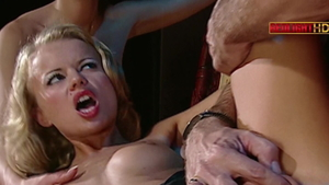 Plowing hard escorted by european stepmom Lucy Belle