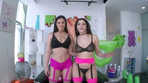 Nailed rough together with Violet Star next to Violet Starr