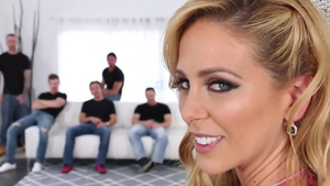 Rough cock sucking along with MILF Cherie Deville in HD