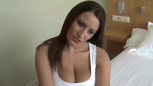 Doggy style in company with huge boobs deutsch brunette