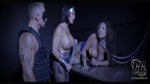 Domination chained in company with Shay Fox