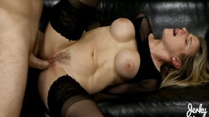 Large boobs Cory Chase stepmom sucking dick scene