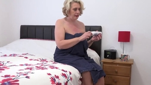 Saggy tits girl instruction in HD