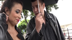 Kinky Mira Cuckold has a thing for hard sex