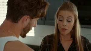 Inked pornstar Britney Amber helps with swallow HD