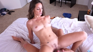 Petite Cassidy Klein has a thing for real sex