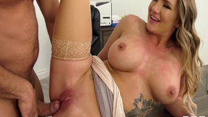 Hard ramming along with naughty american pornstar Cali Carter