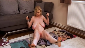 Babe Casey Deluxe masturbating sex tape HD
