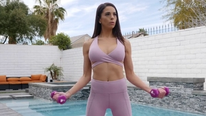 Perfect body Eva Long workout sex tape