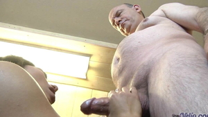 Young blowjob cunnilingus at the casting in HD