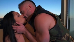 Vicki Chase in boots cumshot