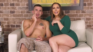 Nailing in company with hot girl Chanel Preston