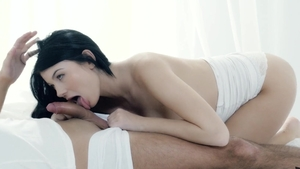 Pussy sex together with stiff brunette Lucy Li