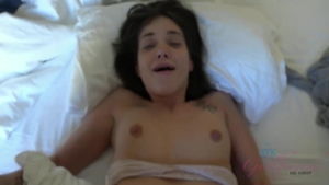 POV ejaculation with pornstar Gia Paige in hotel